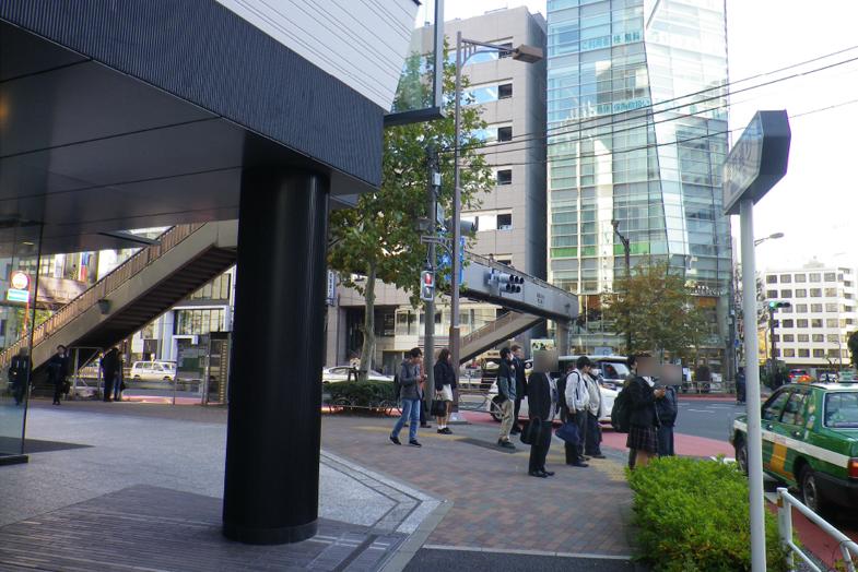 渋谷・表参道サロンへの行き方5 左手に「匠大塚 青山」がございます